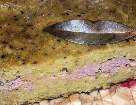 Babka ziemniaczano-cukiniowa z mielonym mięsem