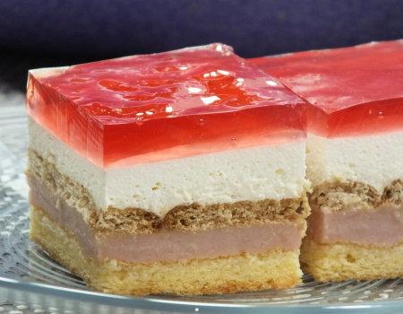 Bajeczne ciasto z galaretką