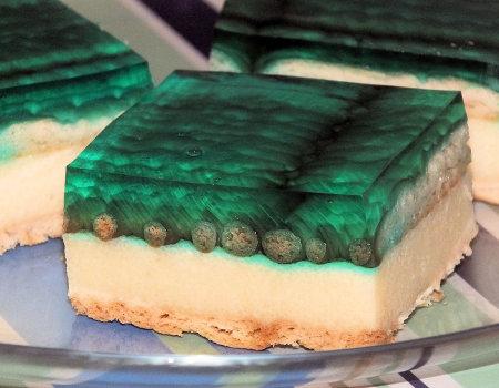 Błyskawiczne ciasto z galaretką