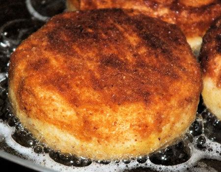 Camembert smażony w panierce