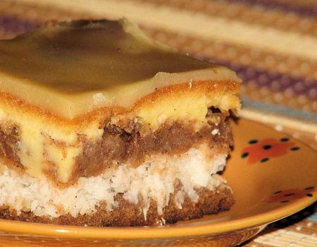 Ciasto jabłkowe z chałwą