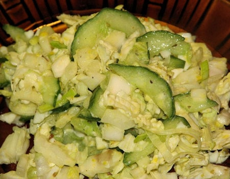 Dietetyczna sałatka do grilla