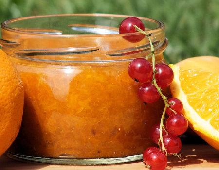 Dżem morelowy z nutką pomarańczy