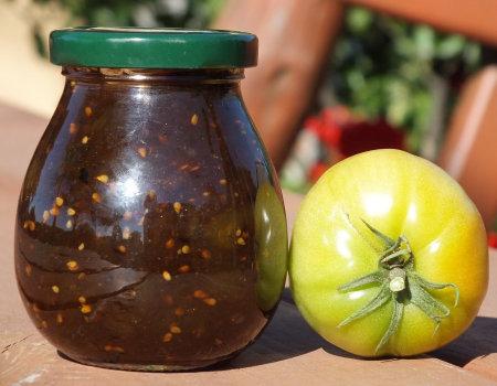 Dżem z zielonych pomidorów