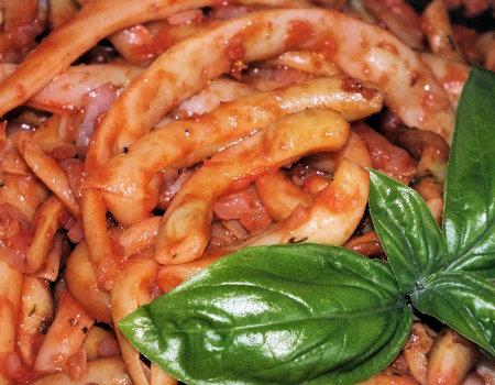 Fasolka szparagowa z przecierem pomidorowym