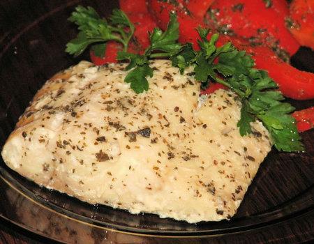 Grillowany filet z dorsza