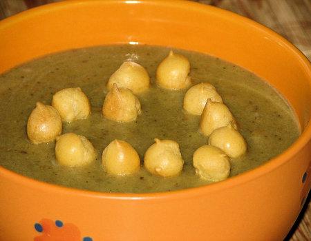 Jesienna zupa grzybowa krem