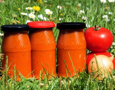 Ketchup z cukinii i marchewki