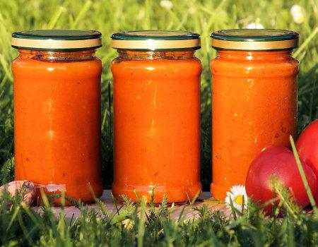 Ketchup z pomidorów