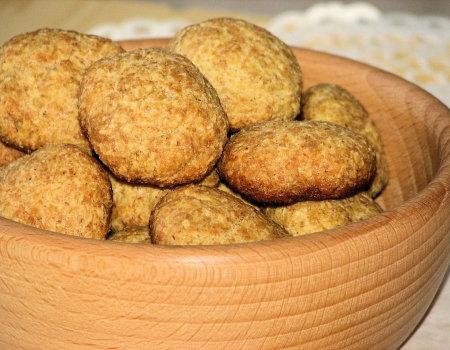 Kokosowe ciasteczka dla będących na diecie