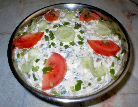 Koperkowa sałatka z ziemniakami