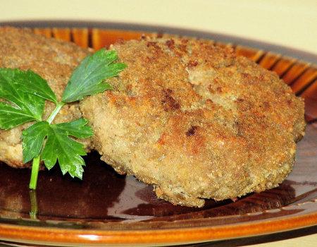 Kotlety z mięsa mielonego i soczewicy