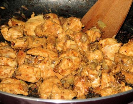 Kurczak w musztardowej glazurze