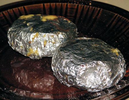 Musztardowy camembert z grilla