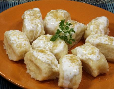 Pierogi leniwe z serem