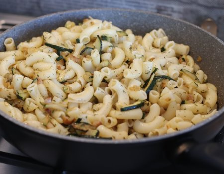 Pomysł na obiad w 10 minut - czyli danie z makaronem