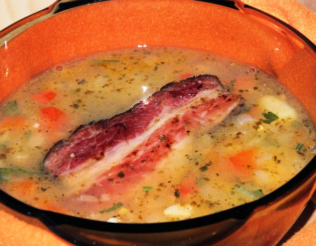 Rozgrzewająca i aromatyczna zupa na zimę