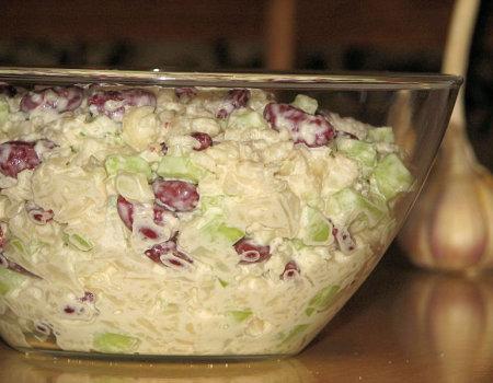 Sałatka kalafiorowo-ogórkowa