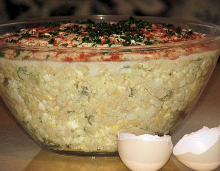 Sałatka kaszubska