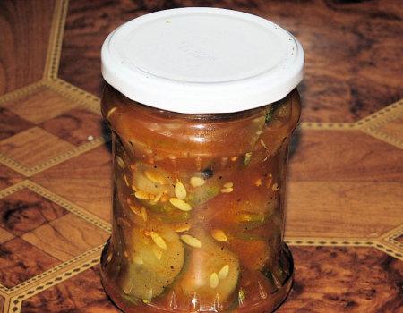 Sałatka ogórkowa z curry