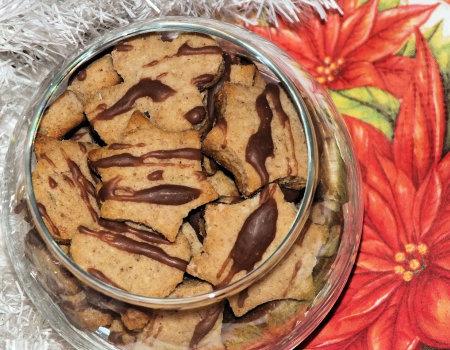 Sezamowe ciasteczka z piernikową nutką