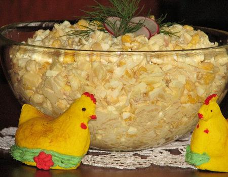 Słodka sałatka na Wielkanoc