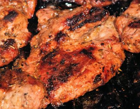 Steki wieprzowe z grilla
