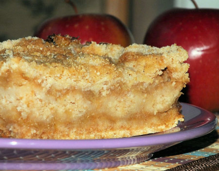 Szarlotka sypana - błyskawiczne i przepyszne ciasto z jabłuszkami