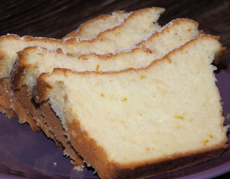 Szybka babka cytrynowa z białek