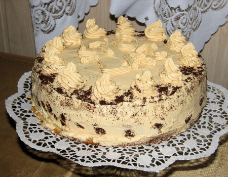 Tort kajmakowy - full wypas