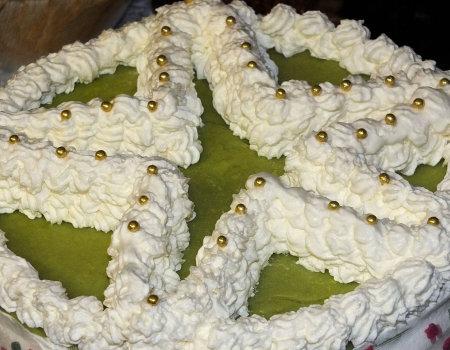 Tort na Boże Narodzenie