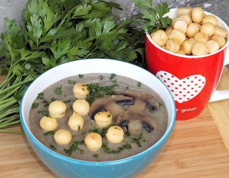 Zupa krem pieczarkowo-ziemniaczana