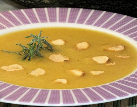 Zupa krem z cukinii i ziemniaków