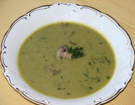 Zupa krem ziemniaczano-szczawiowa