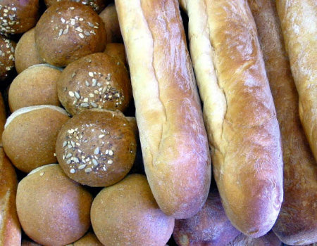 Chleb i bułki można zamrozić...