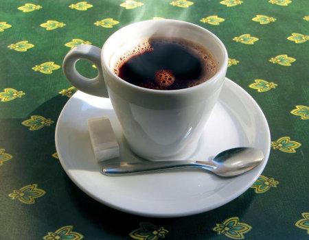 Działanie kawy...