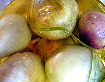 Jak usunąć nieprzyjemny zapach cebuli?