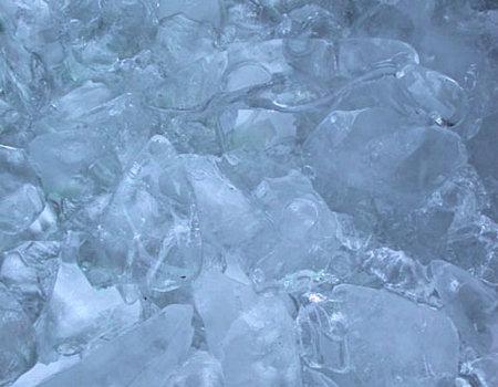 Kostki lodu będą idealnie przezroczyste, jeśli...