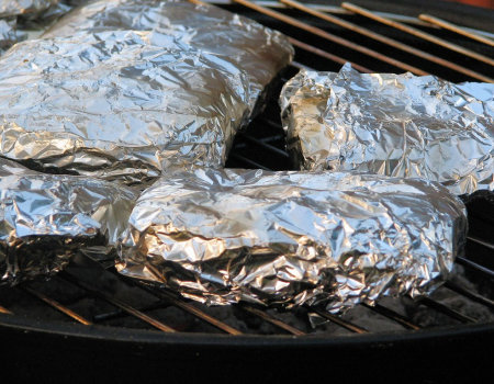 Pakieciki z grilla