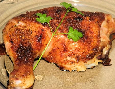 Udka kurczaka w złocistej skórce