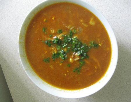 Zupa curry (indyjska)