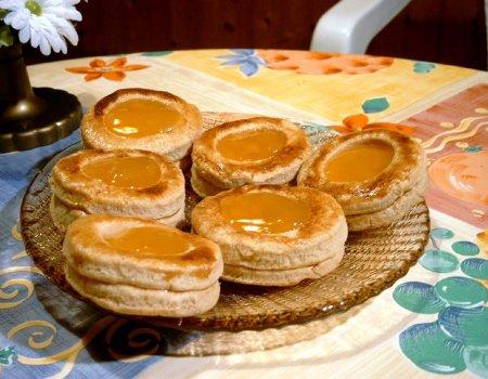 Ciastka francuskie składane