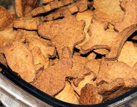 Kruche pełnoziarniste ciasteczka