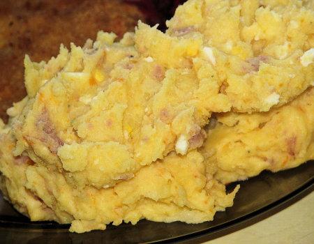 Szałot na ciepło - czyli ziemniaki do drugiego dania inaczej
