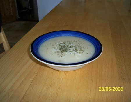Krem z kalafiora (dieta SB)