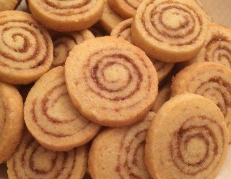 Ciasteczka cynamonowe ślimaki