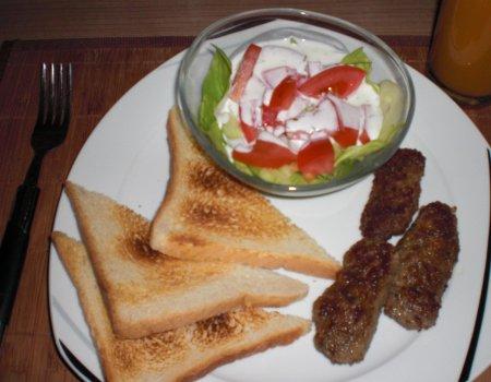 Cevapcici - paluszki z mięsa mielonego