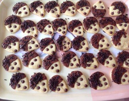 """Kruche ciasteczka """"Jeżyki"""""""