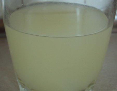 Jabłkowo-cytrynowy na gorące dni