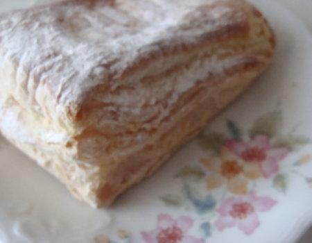 Ciasto francuskie z farszem